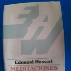 Libros de segunda mano: LIBRO MEDITACIONES CARTESIANAS EDUMUND HUSSERL. Lote 269939073