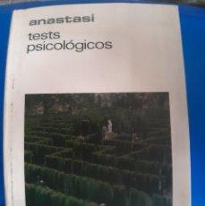 Libros de segunda mano: TEST PSICOLOGICOS ANASTASI. Lote 269939313