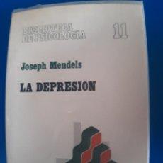 Libros de segunda mano: LA DEPRESION J. MENDELS. Lote 269939743