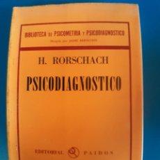 Libros de segunda mano: PSICODIAGNOSTICO H. ROSRSCHACH. Lote 269939883