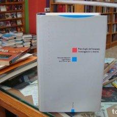 Libros de segunda mano: PSICOLOGÍA DEL LENGUAJE. INVESTIGACIÓN Y TEORÍA. VV.AA. EDIT TROTTA 1992.. Lote 269941543