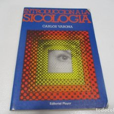 Libros de segunda mano: CARLOS VARONA INTRODUCCIÓN A LA SICOLOGÍA W7601. Lote 270571238