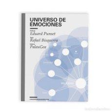 Libros de segunda mano: UNIVERSO DE EMOCIONES. - BISQUERRA ALZINA, RAFAEL.. Lote 271521448