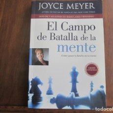 Libros de segunda mano: EL CAMPO DE BATALLA DE LA MENTE. Lote 276672378
