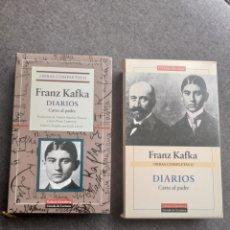 Libros de segunda mano: TOMO OBRAS COMPLETAS II, FRANZ KAFKA , DIARIOS CARTA AL PADRE, GALAXIA GUTENBERG. Lote 276722003