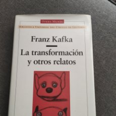 Libros de segunda mano: TOMO FRANZ KAFKA, LA TRANSFORMACIÓN Y OTROS RELATOS, GALAXIA GUTENBERG. Lote 276722503