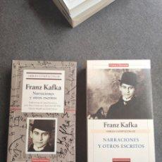 Libros de segunda mano: TOMO OBRAS COMPLETAS III, FRANZ KAFKA, NARRACIONES Y OTROS ESCRITOS , GALAXIA GUTENBERG. Lote 276723038