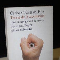 Libros de segunda mano: TEORÍA DE LA ALUCINACIÓN. UNA INVESTIGACIÓN DE TEORÍA PSICO(PATO)LÓGICA.. Lote 277131708
