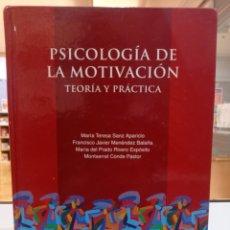 Libros de segunda mano: PSICOLOGÍA DE LA MOTIVACIÓN. VVAA. UNED.. Lote 277588688