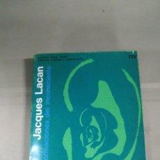 Libros de segunda mano: LA FORMACIONES DEL INCONSCIENTE - JACQUES LACAN. Lote 277678283