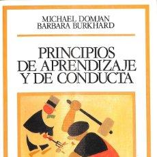 Libros de segunda mano: PRINCIPIOS DE APRENDIZAJE Y DE CONDUCTA. Lote 277831048