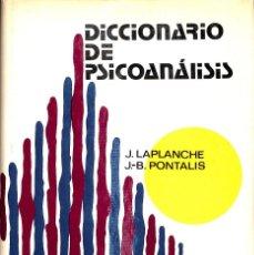 Libros de segunda mano: DICCIONARIO DE PSICOANÁLISIS. Lote 277831423