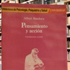 Libros de segunda mano: ALBERT BANDURA, PENSAMIENTO Y ACCIÓN. Lote 278354213