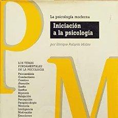 Libros de segunda mano: ENRIQUE PALLARÉS MOLINS - INICIACIÓN A LA PSICOLOGÍA. Lote 278399293