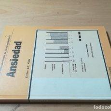 Libros de segunda mano: ANSIEDAD / PROBLEMAS MODERNOS FARMACOPSIQUIATRIA / D F KLEIN / AJ65. Lote 279436083