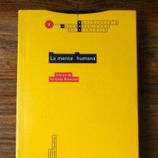 Libros de segunda mano: LA MENTE HUMANA. EDICIÓN DE FERNANDO BRONCANO. ENCICLOPEDIA IBEROAMERICANA DE FILOSOFIA. ED. TROTTA. Lote 280117753