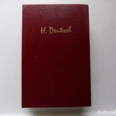 Libros de segunda mano: LIBRERIA GHOTICA. HELENE DEUTSCH. OBRAS ESCOGIDAS. 2006. BIBLIOTECA DE PSICOANALISIS. FOLIO MENOR.. Lote 285153863