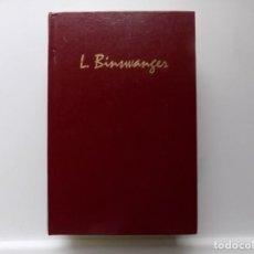Libros de segunda mano: LIBRERIA GHOTICA. LUDWIG BINSWANGER.OBRAS ESCOGIDAS.2006.BIBLIOTECA DE PSICOANALISIS.PRIMERA EDICION. Lote 285154238
