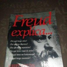 Libros de segunda mano: FREUD EXPLICA... , ALBERTO GOLDIN. Lote 287958153