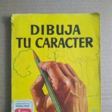 Libros de segunda mano: MANUALES PRÁCTICOS MOLINO N°62: DIBUJA TU CARÁCTER, POR ORESTES SNEROLL (MOLINO, 1951).. Lote 288164448