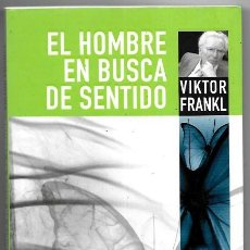 Libros de segunda mano: VIKTOR FRANKL . EL HOMBRE EN BUSCA DE SENTIDO . HERDER. Lote 288570938