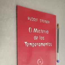 Libros de segunda mano: EL MISTERIO DE LOS TEMPERAMENTOS / RUDOLF STEINER / ED. ANTROPOSÓFICA 1ª EDICIÓN 1987 ARGENTINA. Lote 288955593