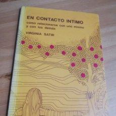 Libros de segunda mano: EN CONTACTO ÍNTIMO (VIRGINIA SATIR). Lote 289963468