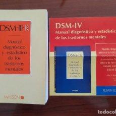 Libros de segunda mano: DSM-III-R MANUAL DIAGNOSTICO Y ESTADISTICO TRASTORNOS MENTALES + PUBLICIDAD. Lote 290887988