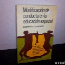 Libros de segunda mano: 39- MODIFICACIÓN DE CONDUCTA EN EDUCACIÓN ESPECIAL. Lote 293983598
