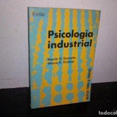 Libros de segunda mano: 39- PSICOLOGÍA INDUSTRIAL - MARVIN D. DUNNETTE. Lote 293983698
