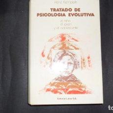 Libros de segunda mano: TRATADO DE PSICOLOGÍA EVOLUTIVA, HEINZ REMPLEIN, ED. LABOR. Lote 295423348