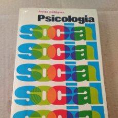 Libros de segunda mano: LIBRO ~ PSICOLOGIA SOCIAL ~ AROLDO RODRIGUES ( AÑO 1976 ). Lote 295443953