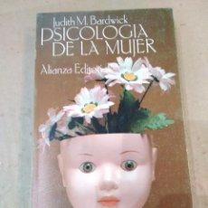 Libros de segunda mano: LIBRO ~ PSICOLOGIA DE LA MUJER ~ JUDITH M. BARDWICK ( AÑO 1980 ) ALIANZA EDITORIAL. Lote 295607913