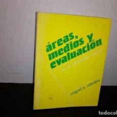 Libros de segunda mano: 20- ÁREAS, MEDIOS Y EVALUACIÓN EN LA EDUCACIÓN INFANTIL - MIGUEL A. ZABALZA. Lote 296608963