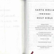 Libros de segunda mano: SANTA BIBLIA VERSION REINA-VALERA REVISION 1960 . Lote 1214792