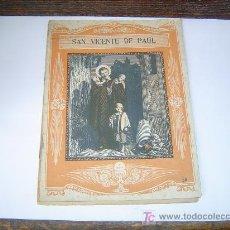 Libros de segunda mano: VIDA BREVE DE SAN VICENTE DE PAÚL.. Lote 18653969
