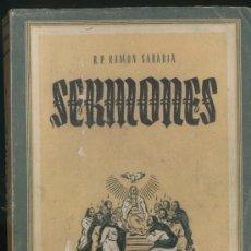 Libros de segunda mano: SERMONES TOMO VI PENTECOSTES. Lote 4502474