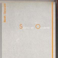 Libros de segunda mano: SUFISMO EN OCCIDENTE. PREPARACIÓN DEL BUSCADOR. EDITORIAL BARATH, 1986.. Lote 26213266