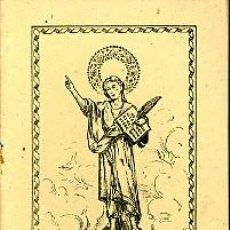 Libros de segunda mano: NOVENA EN HONOR A SAN PANCRACIO. 1944. Lote 5789025