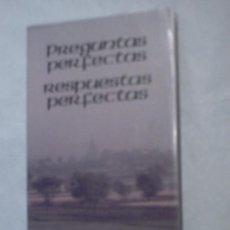 Libros de segunda mano: PREGUNTAS PERFECTAS, RESPUESTAS PERFECTAS. Lote 7618189