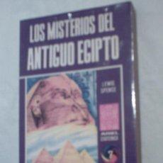 Libros de segunda mano: LOS MISTERIOS DEL ANTIGUO EGIPTO DE LEWIS SPENCE (ARIEL). Lote 7618250