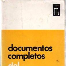 Libros de segunda mano: DOCUMENTOS COMPLETOS DEL VATICANO II - 1965. Lote 17922855