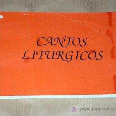 Libros de segunda mano: CANTOS LITURGICOS. PARROQUIA SAN JUAN DE LA CRUZ DE ZARAGOZA.. Lote 24536698