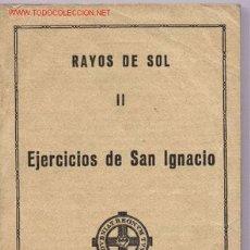 Libros de segunda mano: EJERCICIOS DE SAN IGNACIO. Lote 24824593