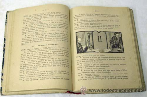 Libros de segunda mano: Catecismo mayor Segunda parte por Pío X Editorial Razón y Fé 1940 - Foto 4 - 222738303