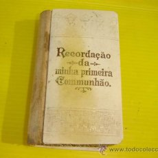 Libros de segunda mano: MISAL COMUNION PLATA AÑO 1916. Lote 10232900