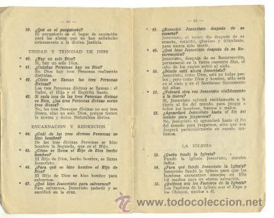 Libros de segunda mano: Catecismo de la Doctrina Cristiana .. Según Papa Pio X .. 1º grado 1947 - Foto 2 - 20982092