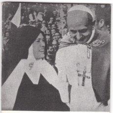 Libros de segunda mano: MINILIBRO: MENSAJE DE FATIMA, HABLA LUCIA. 1970. Lote 12575562