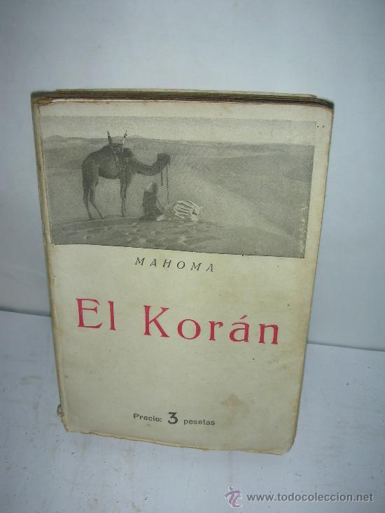 EL KORAN, MAHOMA (Libros de Segunda Mano - Religión)