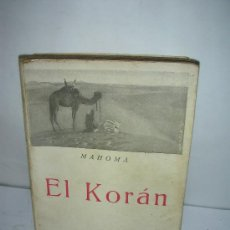 Libros de segunda mano: EL KORAN, MAHOMA. Lote 24625514